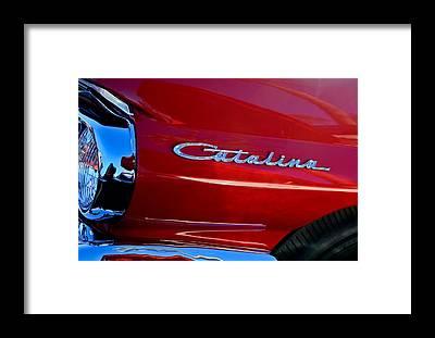 Pontiac Catalina Framed Prints