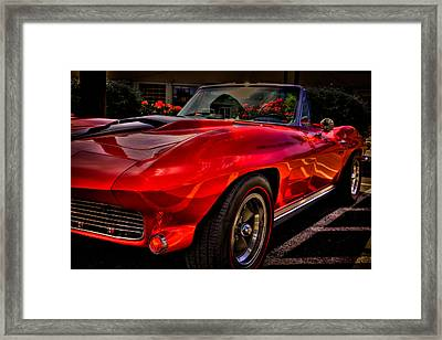 1963 Chevy Corvette Framed Print