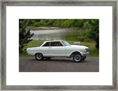 1963 Chevy II Pro Street Dragster Framed Print by Tim McCullough