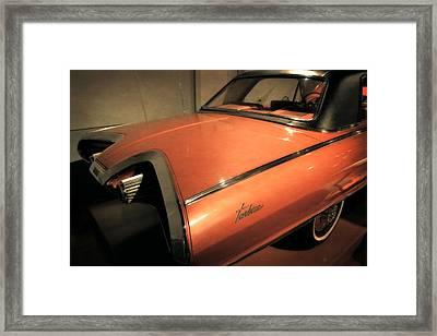 1963 Chrysler Turbine Framed Print by Michelle Calkins