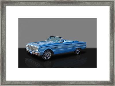 1963 Ford Falcon Framed Print