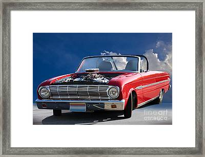 1963 Ford Falcon Futura Convertible Framed Print by Dave Koontz