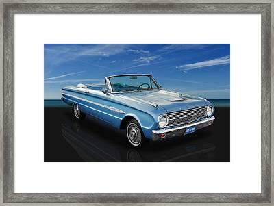 1963 Ford Falcon Futura Convertible Framed Print