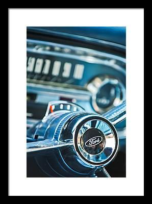 1963 Ford Framed Prints