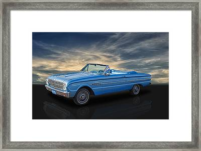 1963 Ford Falcon Futura Framed Print