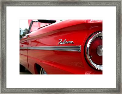1963 Ford Falcon Name Plate Framed Print by Brian Harig