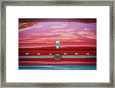 1963 Ford Falcon Sprint Convertible   Framed Print by Rich Franco