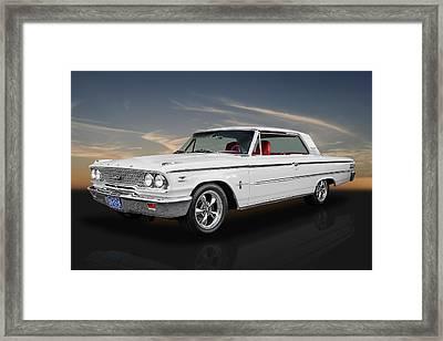 1963 Ford Galaxie 500 - 5.0 Cammer Framed Print
