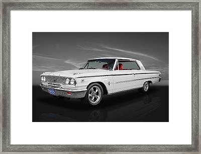1963 Ford Galaxie 500 Framed Print