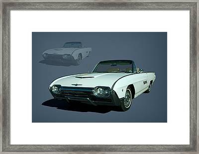 1963 Ford Thunderbird Convertible Framed Print