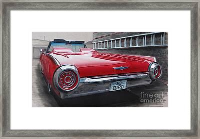 1963 Ford Thunderbird Framed Print