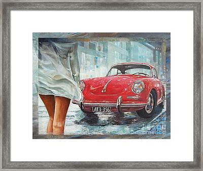 1963 Porsche 356 C Framed Print