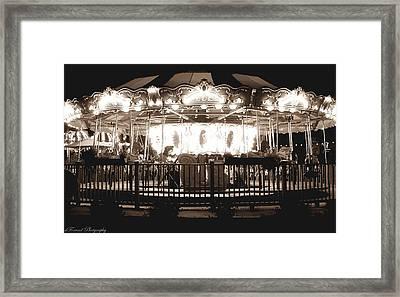1964 Allan Herschell Carousel Framed Print
