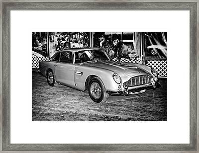 Framed Print featuring the photograph 1964 Aston Martin Db5 by Boris Mordukhayev
