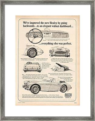1964 Austin Healey Framed Print