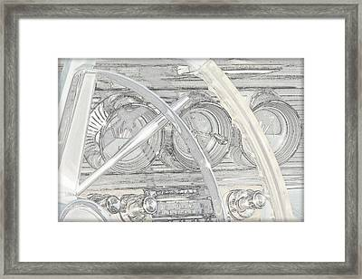 1964 Bonneville.....dash Framed Print