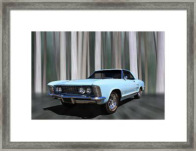 1964 Buick Riviera Framed Print by Keith Hawley