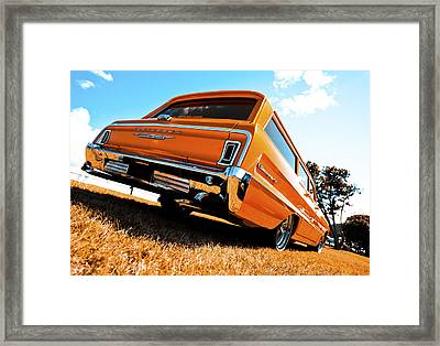 1964 Chevrolet Biscayne Framed Print by motography aka Phil Clark