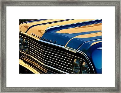 1964 Chevrolet Chevelle Grille Framed Print by Jill Reger
