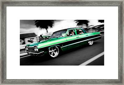 1964 Chevrolet Impala Framed Print by Phil 'motography' Clark