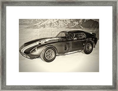 1964 Cobra Daytona Coupe Framed Print