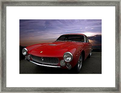 1964 Ferrari 250 Gt Lusso Berlinetta Framed Print
