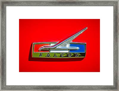 1964 Ford Falcon Emblem Framed Print