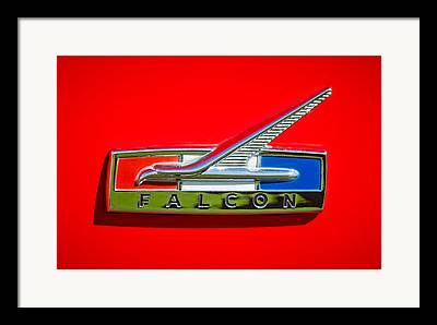 1964 Ford Emblem Framed Prints
