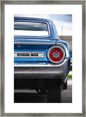 1964 Ford Galaxie 500 Framed Print by Gordon Dean II