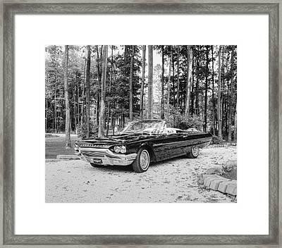 1964 Ford Thunderbird  Waterloo Framed Print