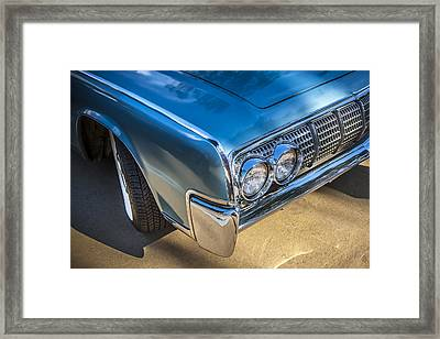 1964 Lincoln Continental Convertible  Framed Print by Rich Franco