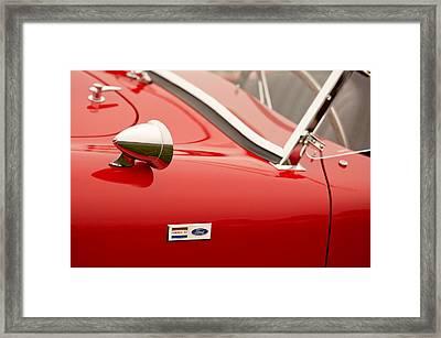 1964 Shelby Cobra 289 Street Roadster Emblem Framed Print