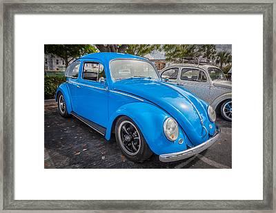 1964 Volkswagen Beetle Vw Bug    Framed Print