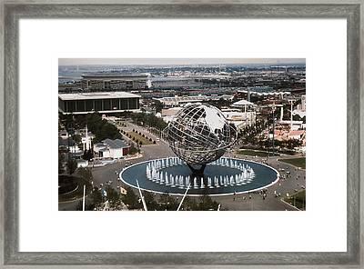 1964 Worlds Fair New York City Framed Print by Kevin Snider