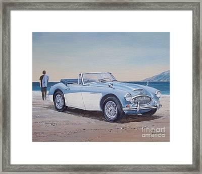1965 Austin Healey Mark IIi Framed Print by Sinisa Saratlic