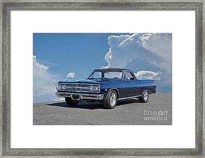 1965 Chevrolet El Camino Framed Print by Dave Koontz