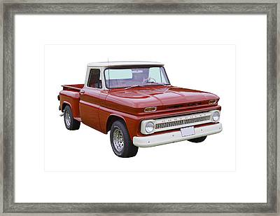1965 Chevrolet Pickup Truck Framed Print