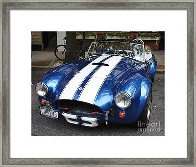 1965 Cobra Shelby Framed Print by John Telfer