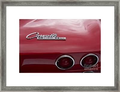 1965 Corvette Framed Print