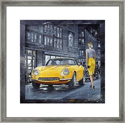 1965 Ferrari 275 Gtb Framed Print