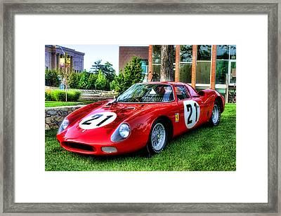 1965 Ferrari V12 250 Lm Framed Print by Tim McCullough