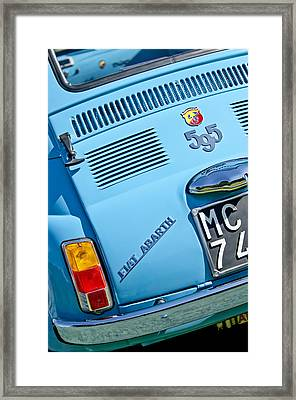 1965 Fiat Taillight Framed Print