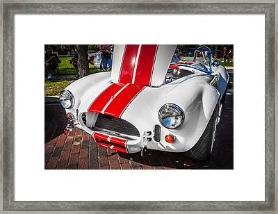 1965 Ford Ac Cobra Painted   Framed Print by Rich Franco