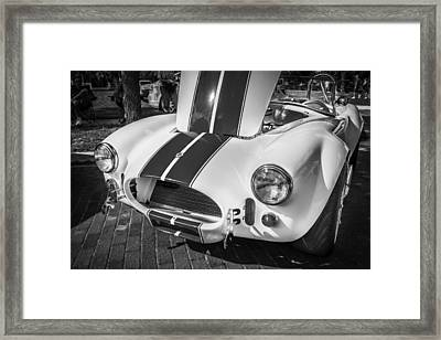 1965 Ford Ac Cobra Painted Bw  Framed Print by Rich Franco