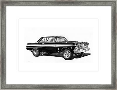 1965 Ford Falcon Street Rod Framed Print by Jack Pumphrey