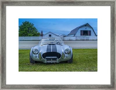 1965 Ford Shelby Cobra American Roadster Framed Print