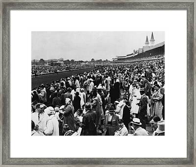 1965 Kentucky Derby Horse Racing Vintage Framed Print by Retro Images Archive