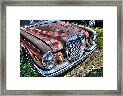 1965 Mercedes-benz Framed Print