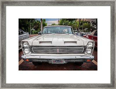 1965 Mercury Comet Cyclone Gt  Painted  Framed Print by Rich Franco