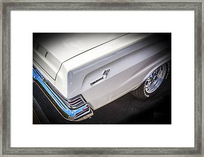 1965 Mercury Comet Cyclone Gt Framed Print by Rich Franco